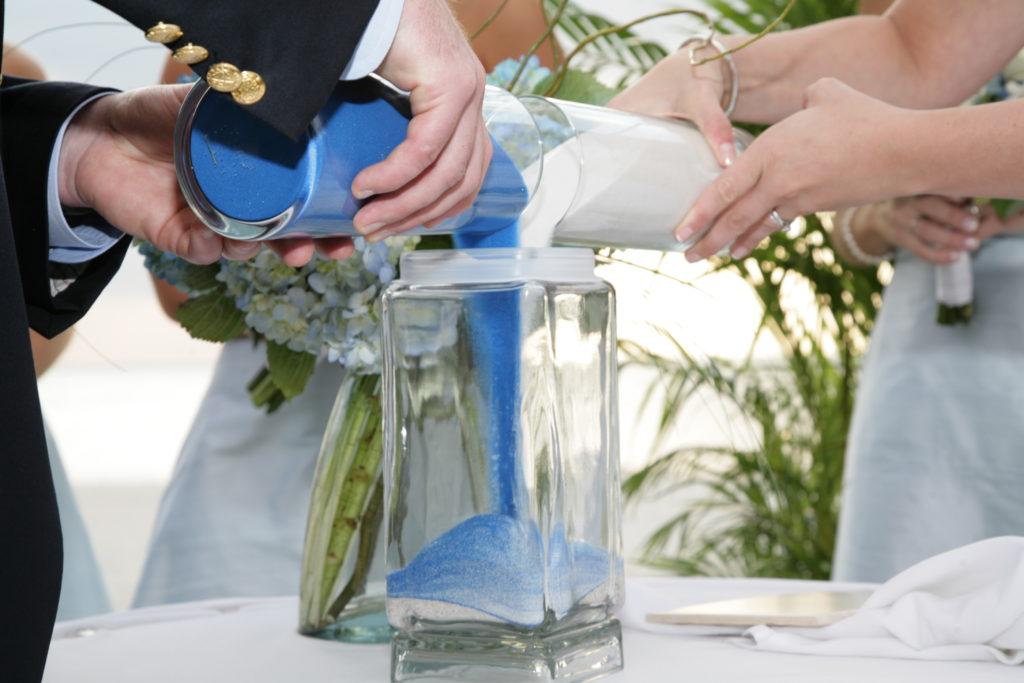 matrimonio con rito simbolico | rito della sabbia