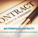 contratti matrimonio | contratti fornitori matrimonio