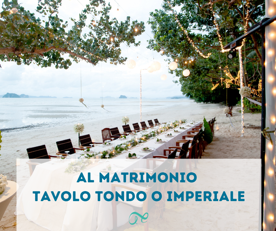 Tavolo tondo o imperiale Alter Ego Wedding