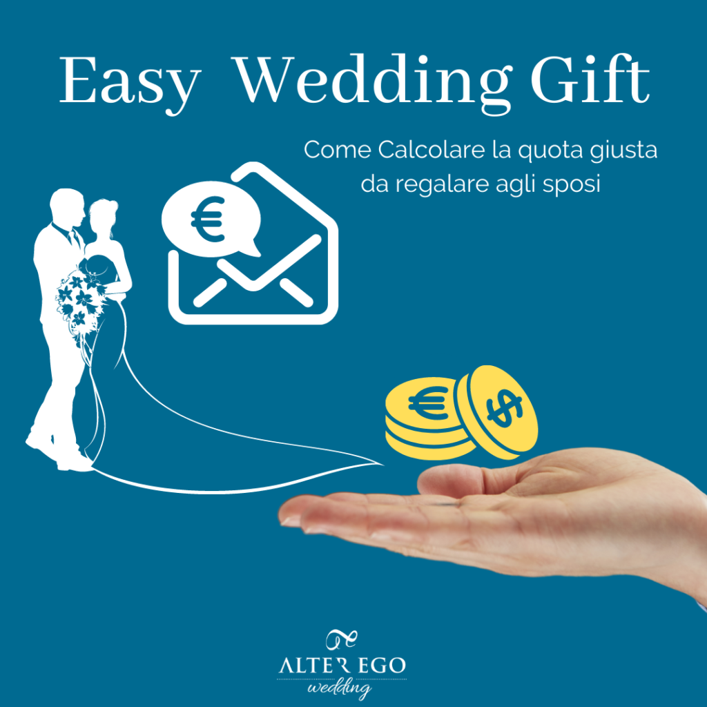 easy wedding gift | regalo sposi | soldi sposi
