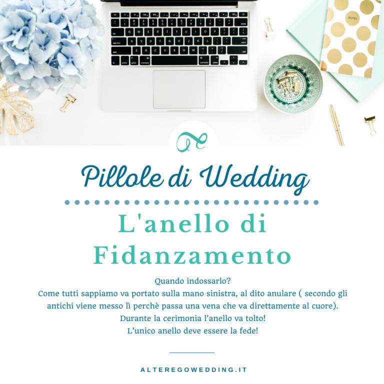 Anello di fidanzamento- Alter Ego Wedding