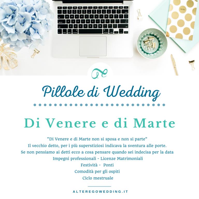 Di Venere e di Marte- Alter ego wedding