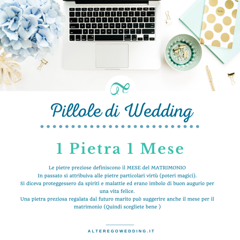 data matrimonio - Alter ego wedding