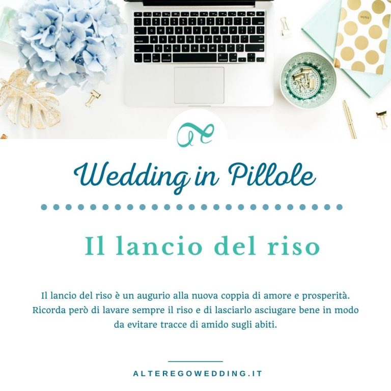 _Wedding IN PILLOLE - riso matrimonio